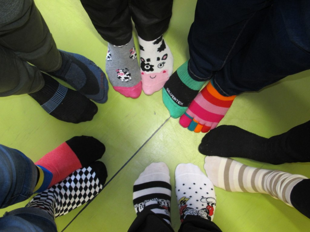 Ponožkový den (tradiční den Downova syndromu) 1