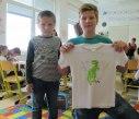 Vyrábíme trička s 1.A 39
