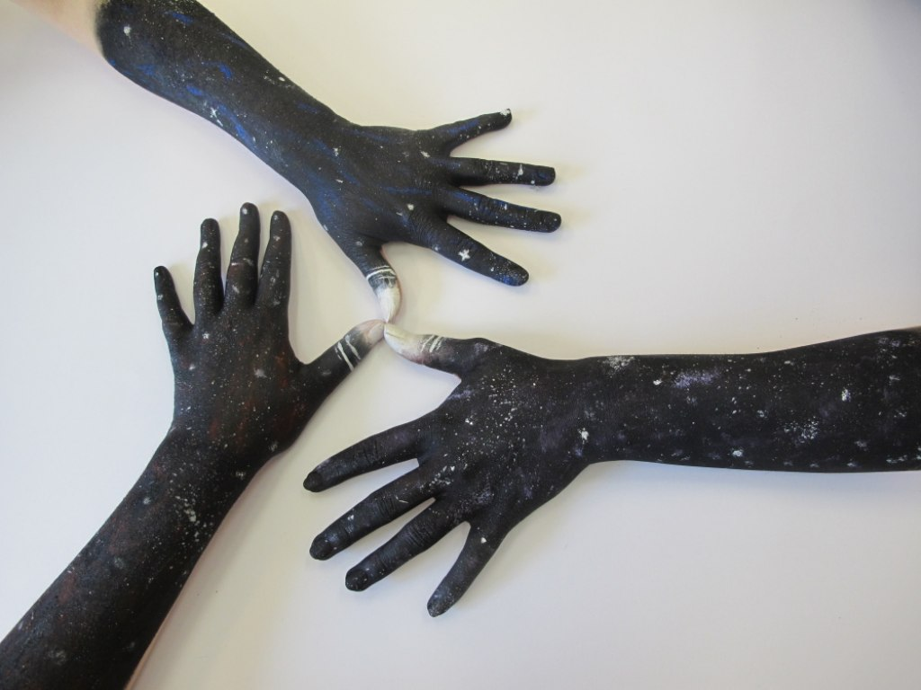 Body art ruce 9