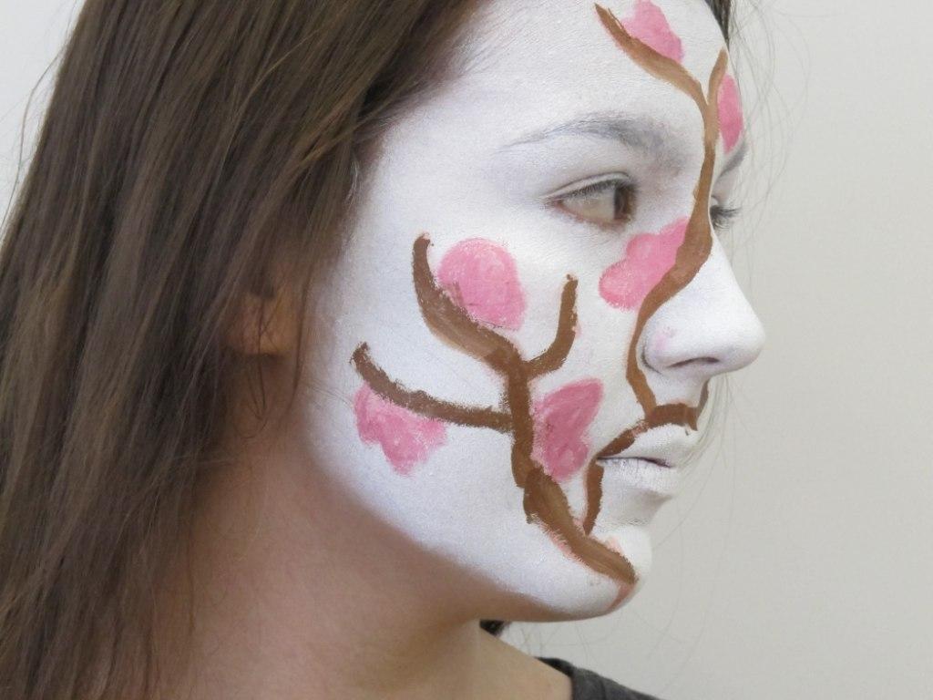 Body art obličej 1 3