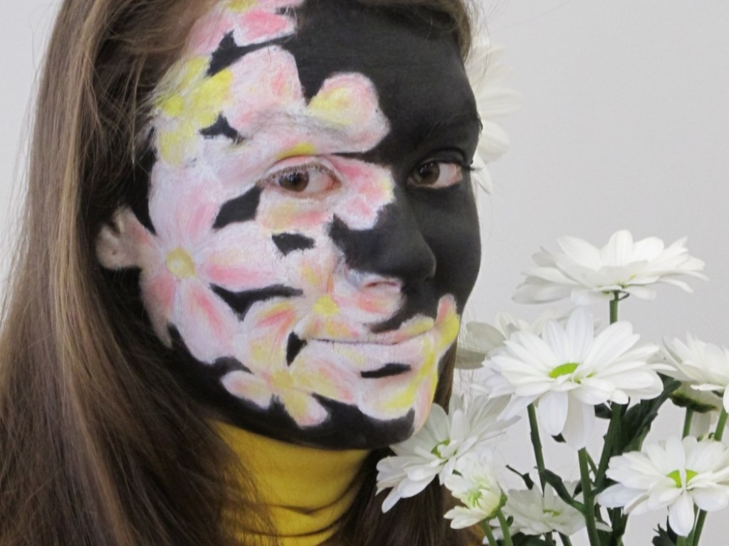 Body art obličej 2 2