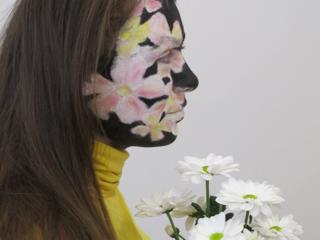 Body art obličej 2 3