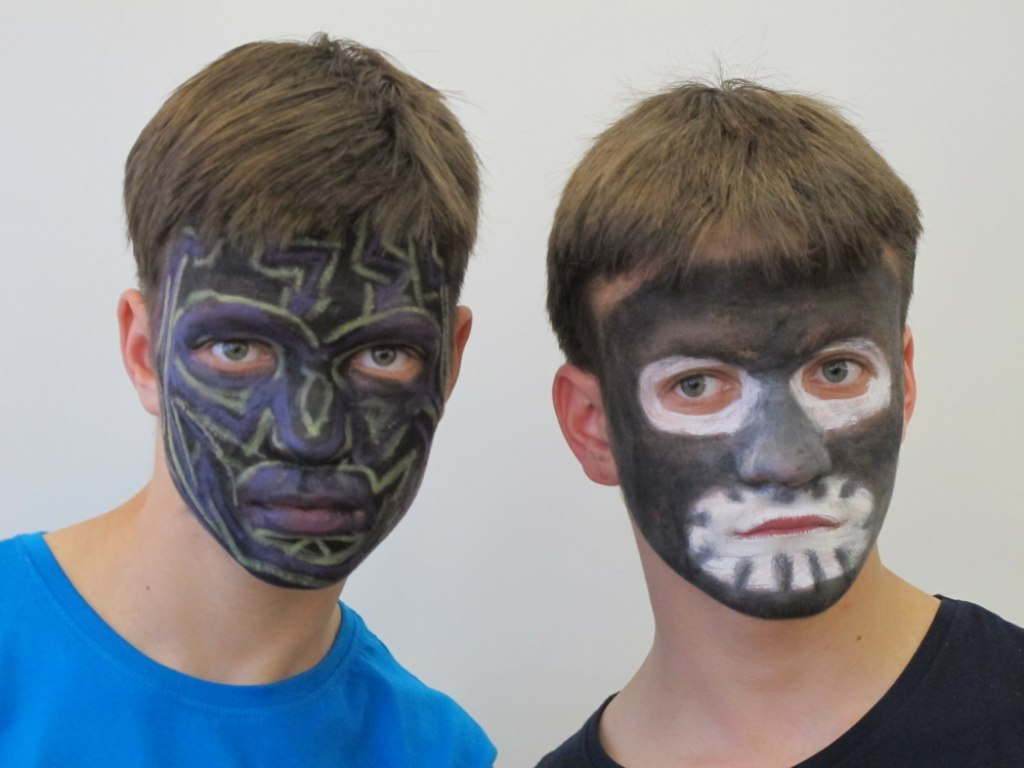 Body art obličej 2 6
