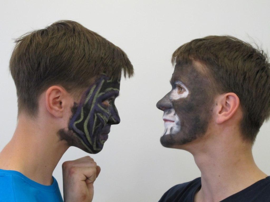 Body art obličej 2 7