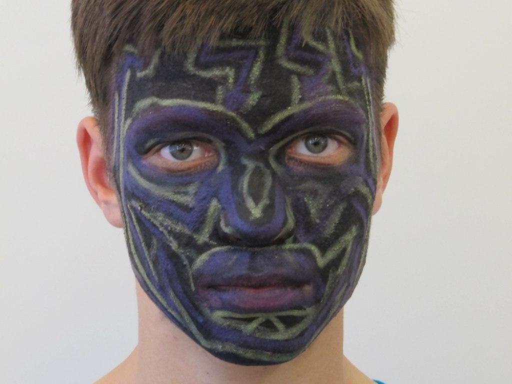 Body art obličej 2 8