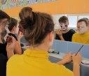 Body art obličej přípravy 9
