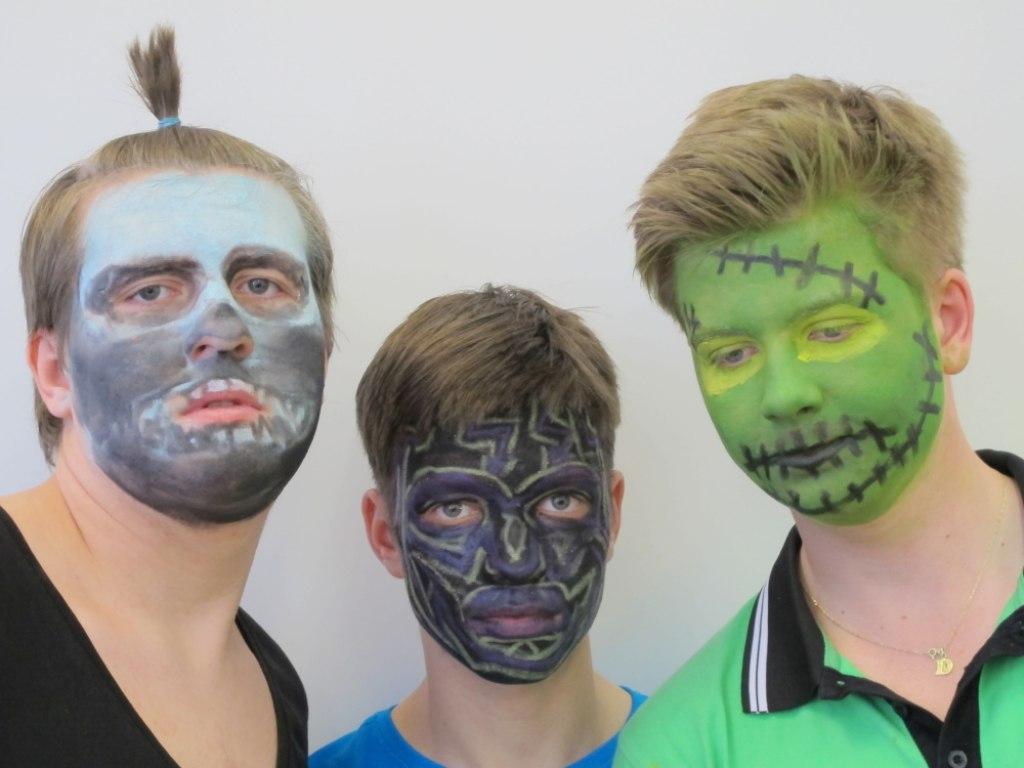 Body art obličej 3 3