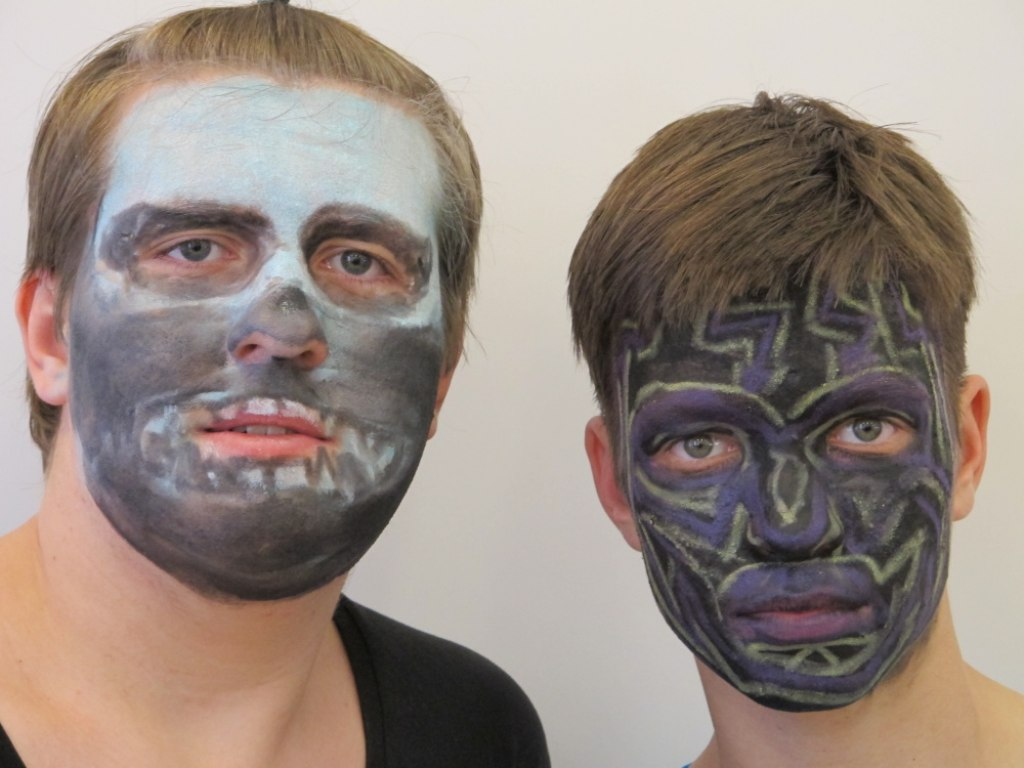 Body art obličej 3 4