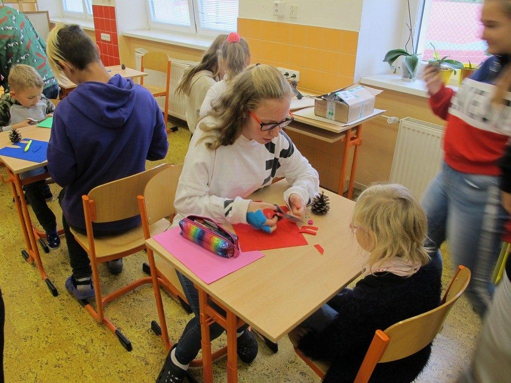 Návštěva dětí z MŠ Čtyřlístek 1