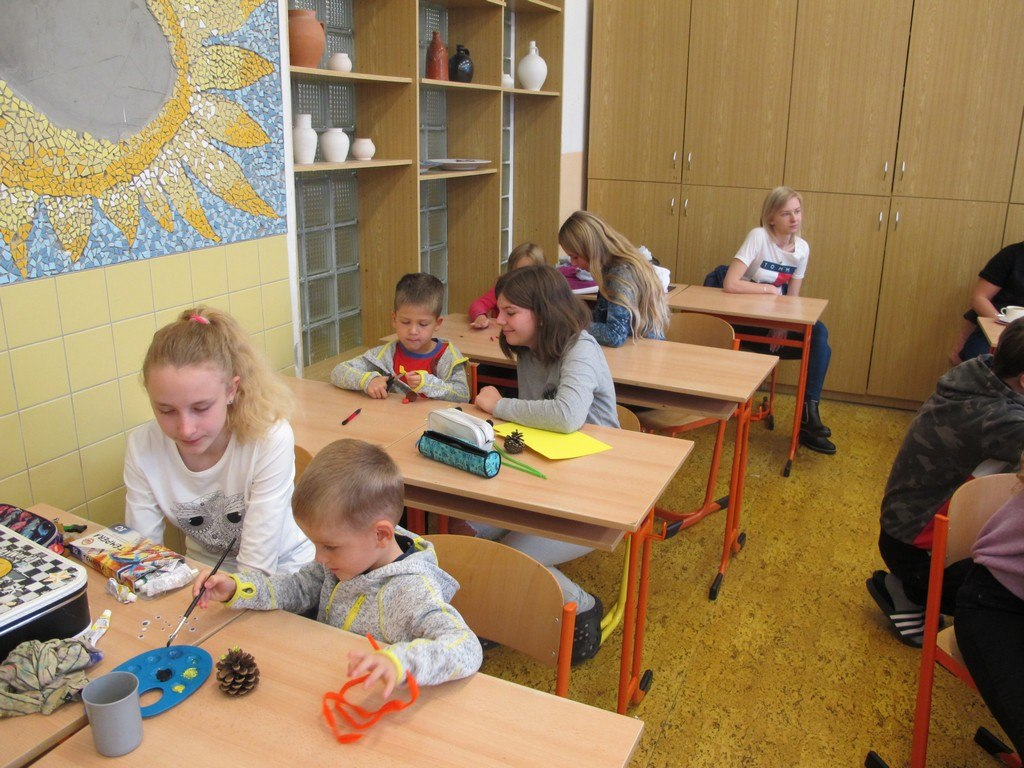 Návštěva dětí z MŠ Čtyřlístek 4