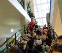 Zpívání na schodech 4