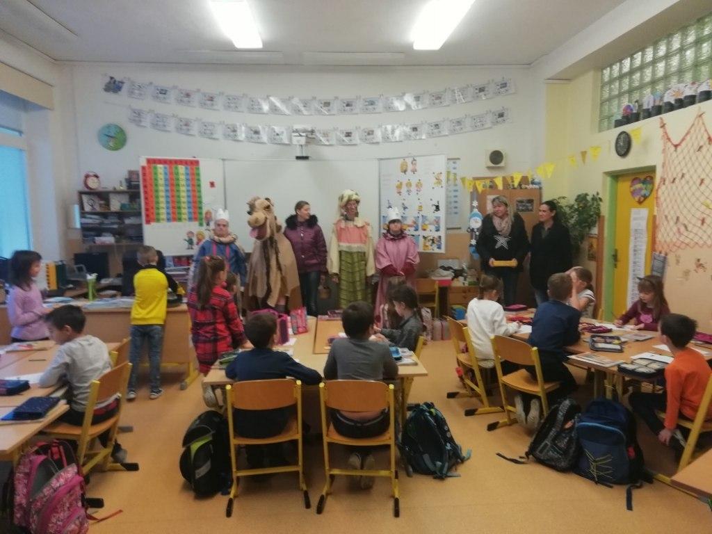 Vánoční akademie v zákulisí 14