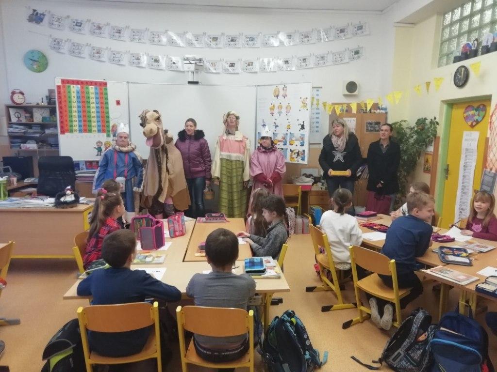Vánoční akademie v zákulisí 15