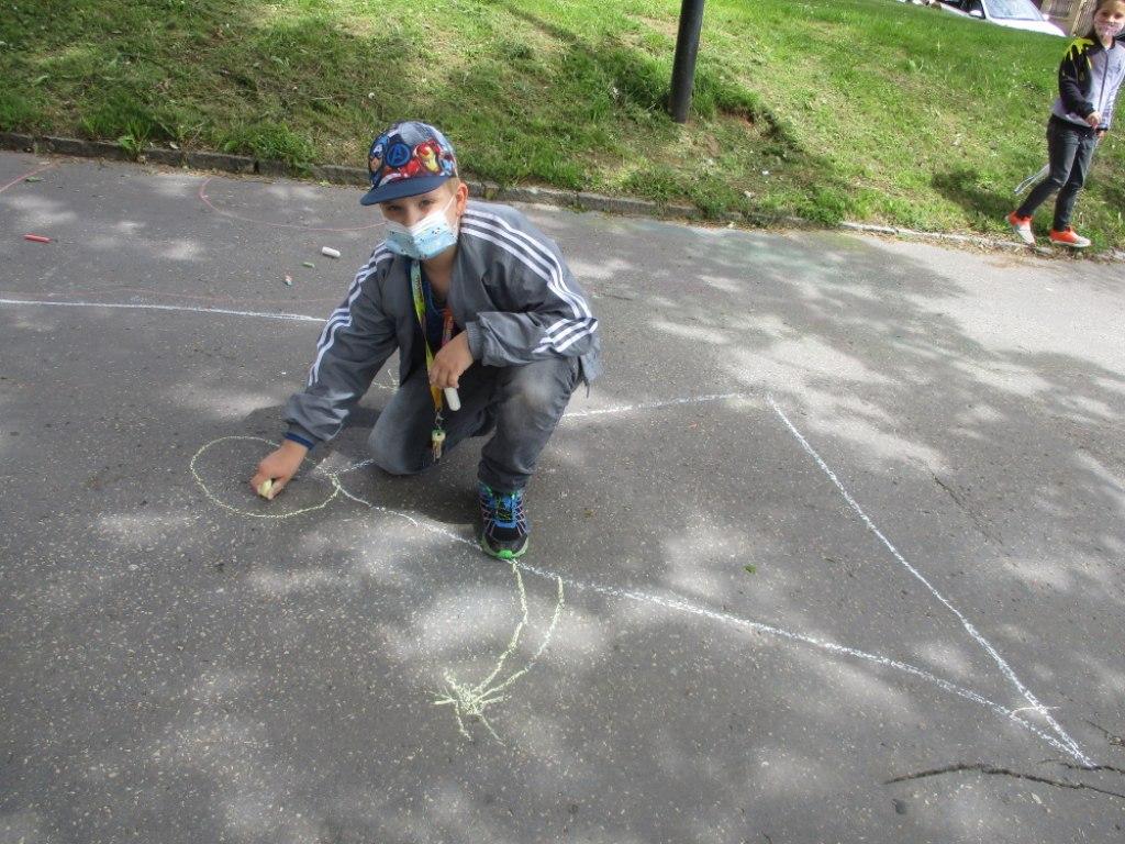 Malování na asfalt 3