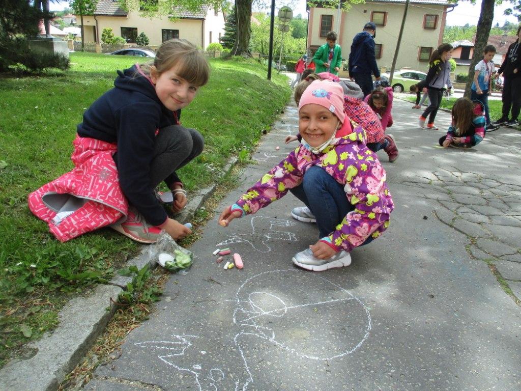 Malování na asfalt 4