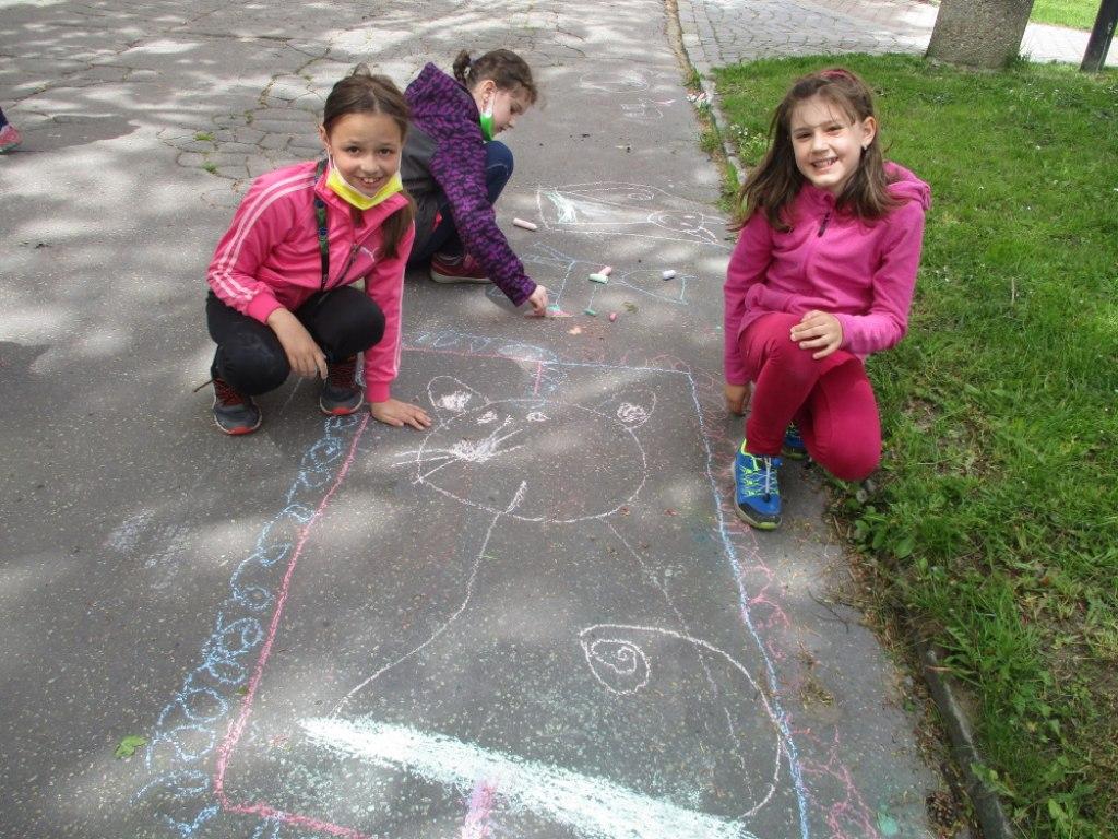 Malování na asfalt 5