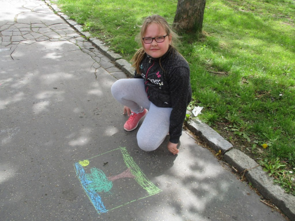 Malování na asfalt 6