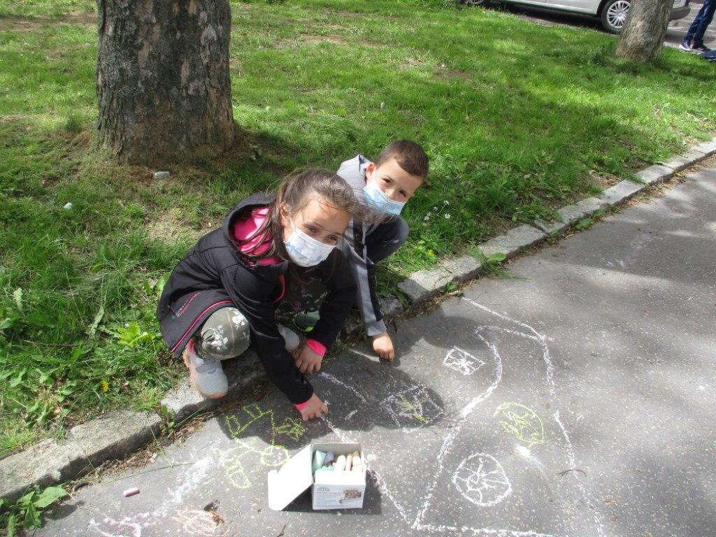 Malování na asfalt 7
