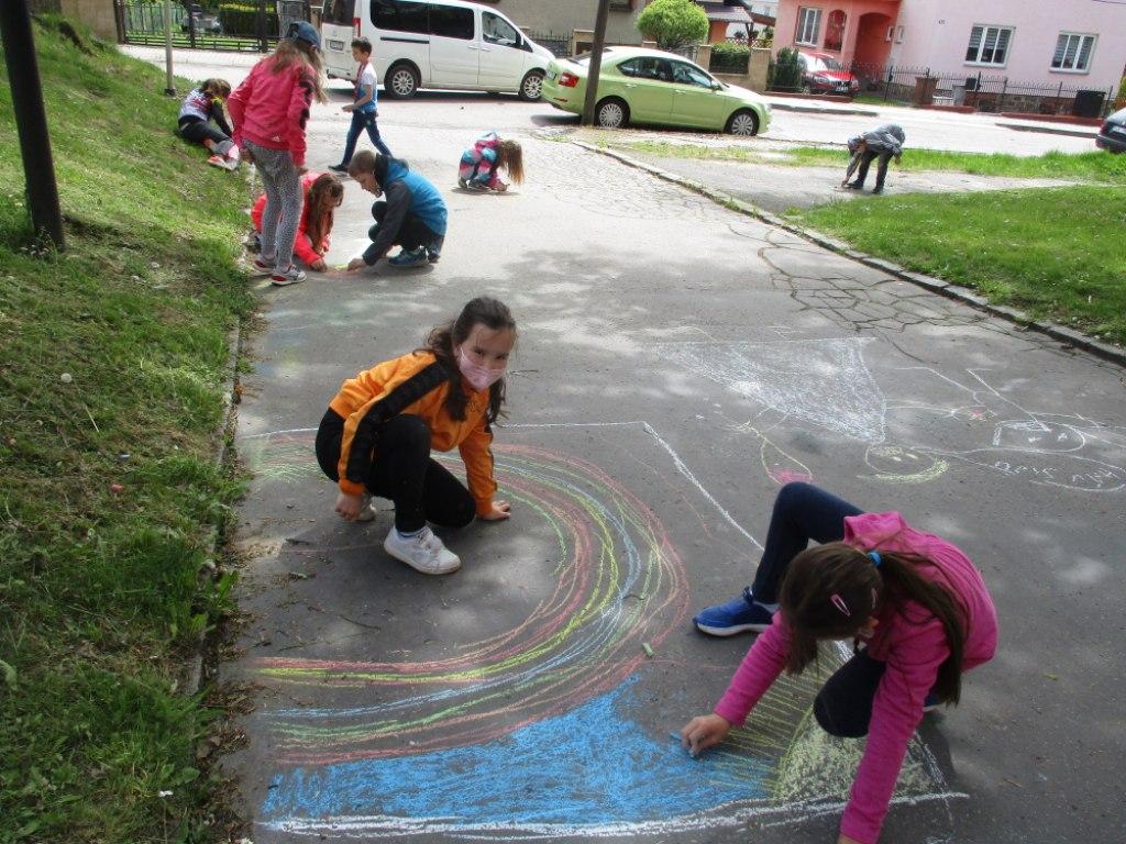 Malování na asfalt 8