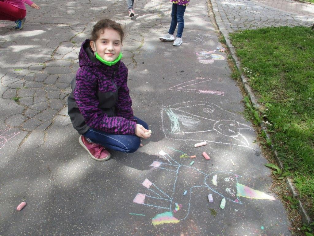Malování na asfalt 11