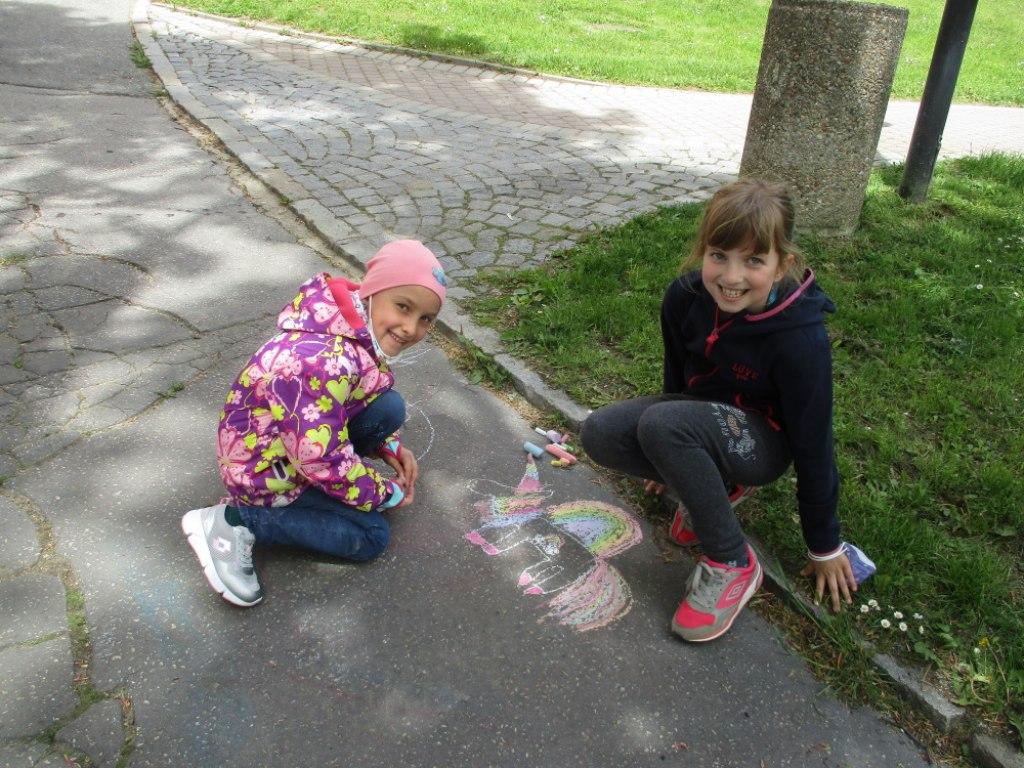 Malování na asfalt 12