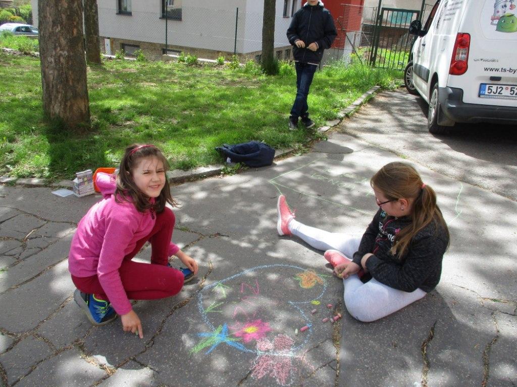 Malování na asfalt 13