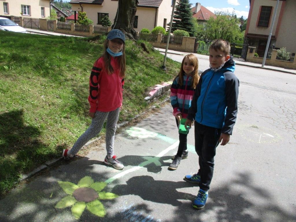 Malování na asfalt 15