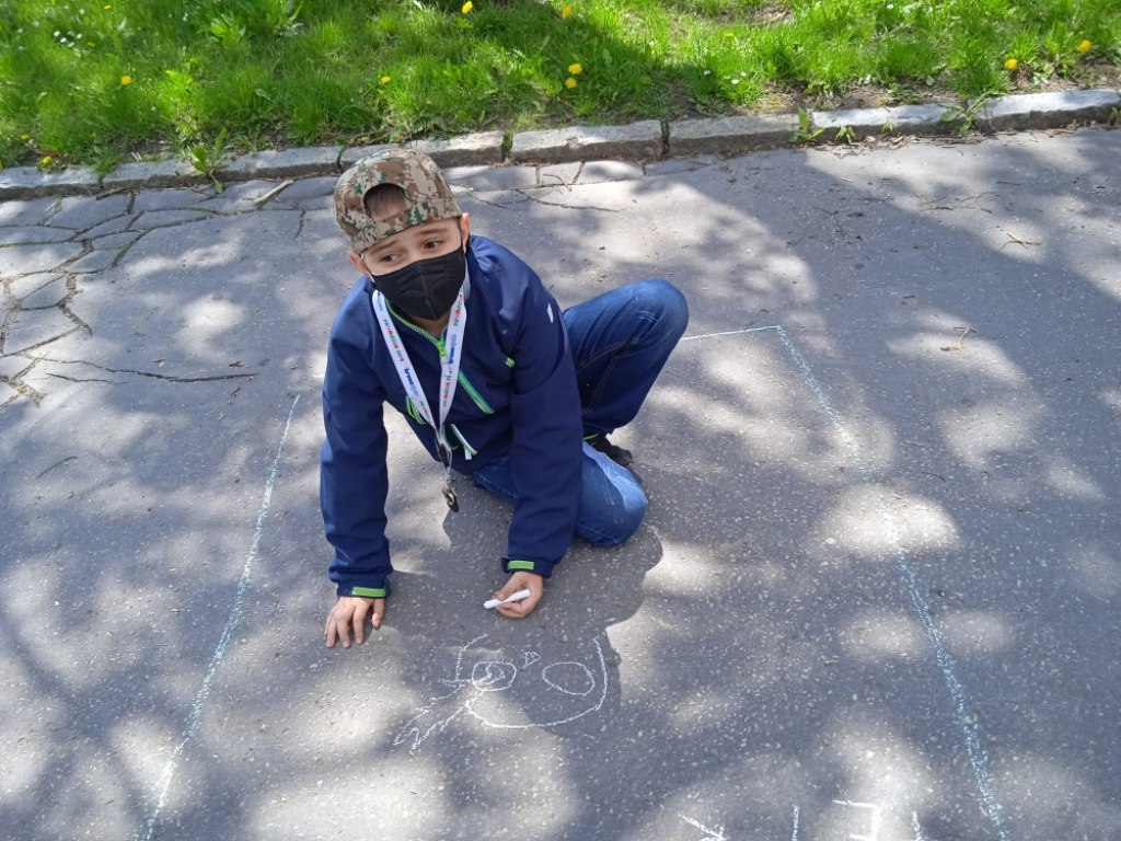 Malování na asfalt 18
