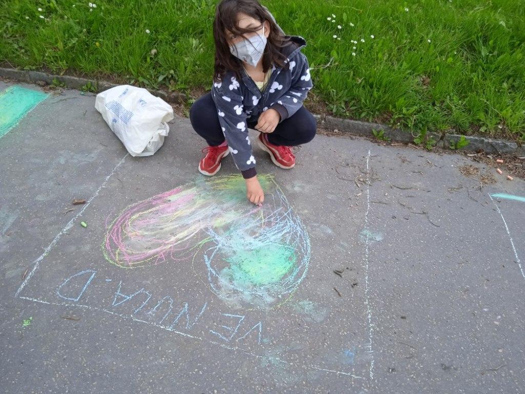 Malování na asfalt 21