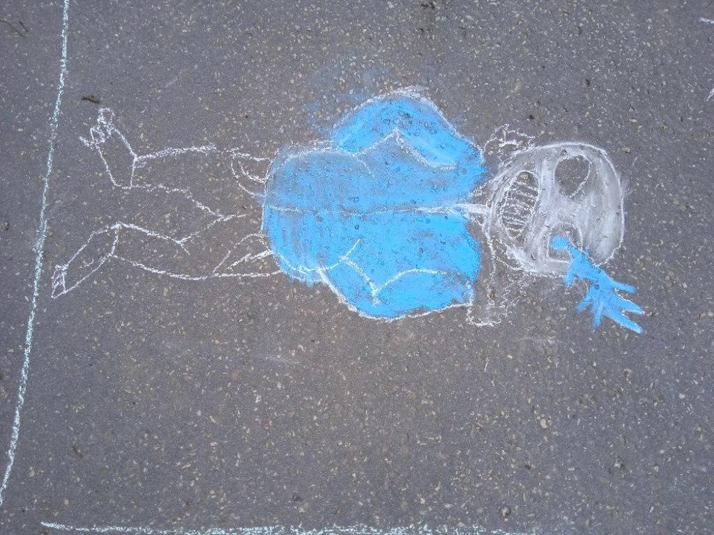 Malování na asfalt 23