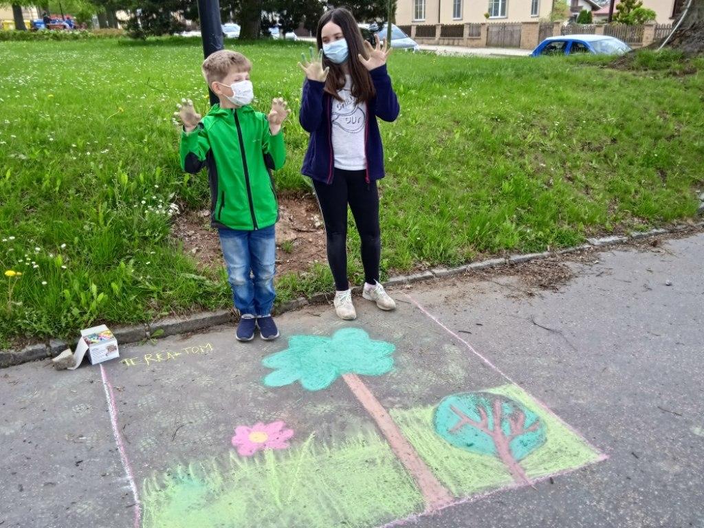 Malování na asfalt 24