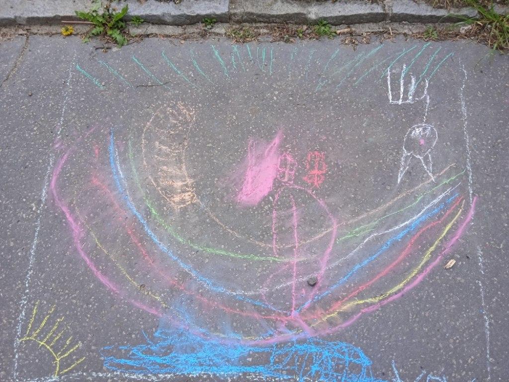 Malování na asfalt 26
