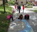 Malování na asfalt 14