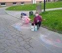 Malování na asfalt 20