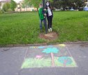Malování na asfalt 31
