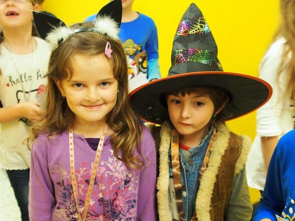 2014 Halloweenské odpoledne - příšery 7