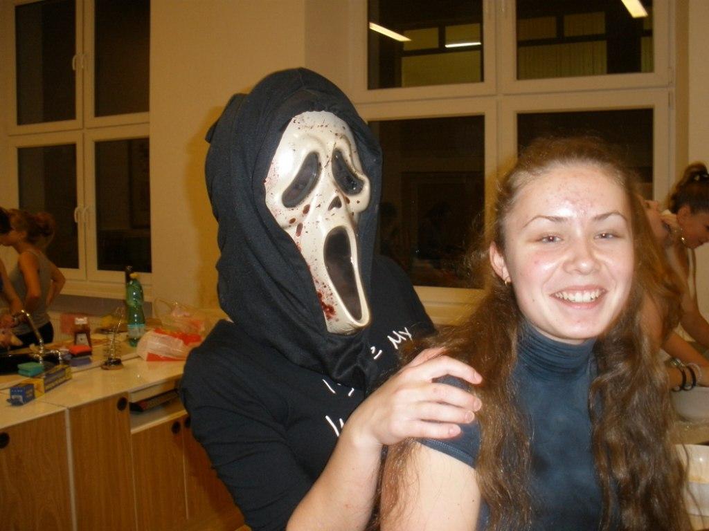 Halloweenské nocování 9.B 4