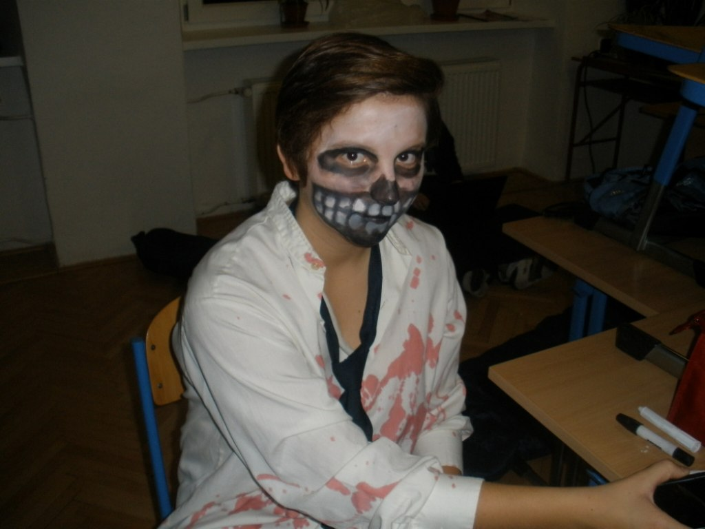 Halloweenské nocování 9.B 5