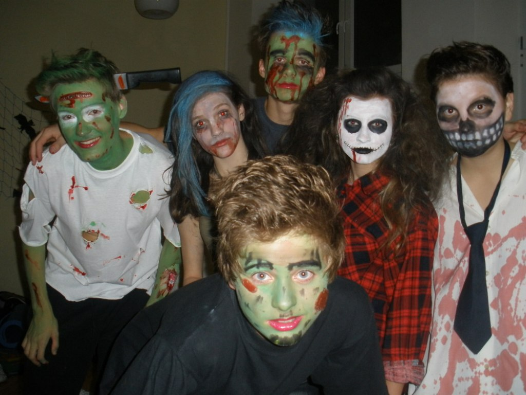 Halloweenské nocování 9.B 7