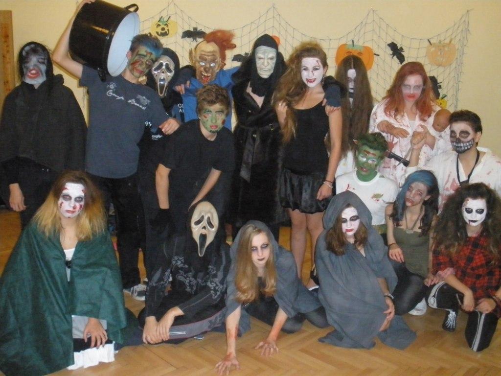 Halloweenské nocování 9.B 8